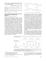 Dynamic NMR Measurements of Boc-amino Esters with Application of Lanthanoid Shift Reagents.
