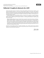 Editorial  Graphical abstracts for AOC.