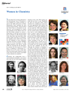 Editorial  Women in Chemistry.