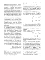 Effect of Protonation on Aziridine and Oxirane Bond Strengths.