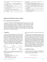 Efficiency and Evolution of Enzyme Catalysis.