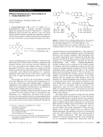 Efficient Enantioselective Total Synthesis of  ()-Epipodophyllotoxin.