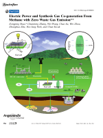 Electric Power and Synthesis Gas Co-generation From Methane with Zero Waste Gas Emission.
