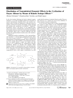 Elucidation of Nonstatistical Dynamic Effects in the Cyclization of Enyne Allenes by Means of Kinetic Isotope Effects.