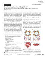 Enantiomerically Pure Chiral {Fe28} Wheels.
