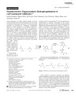 Enantioselective Organocatalytic Hydrophosphination of  -Unsaturated Aldehydes.