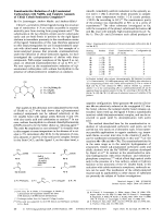 Enantioselective Reduction of  -Unsaturated Carboxylates with NaBH4 and Catalytic Amounts of Chiral Cobalt Semicorrin Complexes.