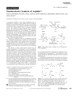 Enantioselective Synthesis of Arglabin.