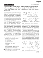 Enantioselective Total Syntheses of Three Cladiellins (Eunicellins)  A General Approach to the Entire Family of Natural Products.