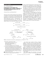 Enantioselective Total Synthesis and Determination of the Absolute Configuration of the 4 6 8 10 16 18-Hexamethyldocosane from Antitrogus parvulus.