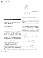 Enantioselective Total Synthesis and Structure Determination of the Antiherpetic Anthrapyran Antibiotic AH-1763 IIa.
