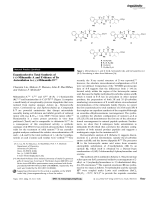 Enantioselective Total Synthesis of (+)-Milnamide A and Evidence of Its Autoxidation to (+)-Milnamide D.