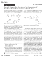 Energetic Nitrogen-Rich Derivatives of 1 5-Diaminotetrazole.