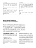 Enzymatic Reduction of Ribonucleotides  Biosynthesis Pathway of Deoxyribonucleotides.