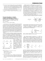 Enzymatic Resolution of Alcohols Coupled with Ruthenium-Catalyzed Racemization of the Substrate Alcohol.