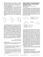 Enzymatic Syntheses of Chiral Building Blocks from Racemates  Preparation of (1R 3R)-Chrysanthemic  -Permethrinic and -Caronic Acids from Racemic  Diastereomeric Mixtures.