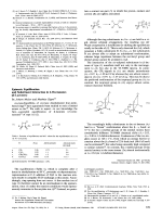 Epimeric Equilibration and Substituent Interaction in 2-Oxetanones (-Lactones).