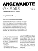 ETC  A Mechanistic Concept for Inorganic and Organic Chemistry.