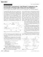Extreme Rate Acceleration by Axial Thiolate Coordination on the Isomerization of Endoperoxide Catalyzed by Iron Porphyrin.