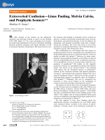 Extroverted ConfusionЧLinus Pauling  Melvin Calvin  and Porphyrin Isomers.