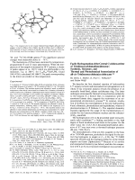 Facile Hydrogenation of the Central Cyclohexatriene of Tris(benzocyclobutadieno)benzene  Synthesis  Structure  and Thermal and Photochemical Isomerization of all-cis-Tris(benzocyclobuta)cyclohexane.