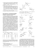 Facile Synthesis of - and -O-Glycosyl Imidates; Preparation of Glycosides and Disaccharides.