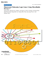 Fluorescent Molecular Logic Gates Using Microfluidic Devices.