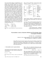 Fluorosulfuric Acid as a Reaction Medium and Fluorinating Agent in Inorganic Chemistry.