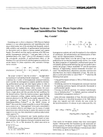Fluorous Biphase SystemsЧThe New Phase-Separation and Immobilization Technique.