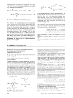 Formation of 1 2 3-Tri-t-butyltrifluorobenzene by Spontaneous Trimerization of t-Butylfluoroacetylene.
