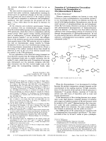 Formation of CycloheptatrieneNorcaradiene Systems in the Decomposition of Diaryldiazomethanes in Benzene.
