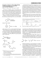 Formation of Nitronic Acids by Ring Opening of Nitrocyclopropanes by a Concerted  Acid-Catalyzed Mechanism.