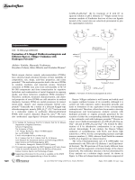 Formation of S-Shaped Disilicoicosatungstate and Efficient BaeyerЦVilliger Oxidation with Hydrogen Peroxide.
