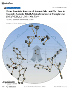 From Storable Sources of Atomic Nb and Ta Ions to Isolable Anionic Tris(1 3-butadiene)metal Complexes  [M(4-C4H6)3]  M=Nb  Ta.
