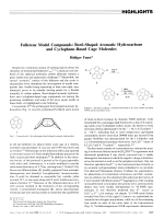 Fullerene Model Compounds  Bowl-Shaped Aromatic Hydrocarbons and Cyclophane-Based Cage Molecules.