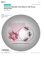 Functional Materials  From Hard to Soft Porous Frameworks.