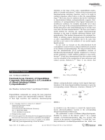 Functional-Group Chemistry of Organolithium Compounds  Photochemical [2+2] Cycloaddition of Alkenyl-Substituted Lithium Cyclopentadienides.