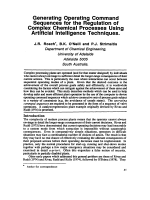 Generating Operating Command Sequences for the Regulation of Complex Chemical Processes Using Artificial Intelligence Techniques.