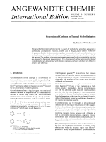 Generation of Carbenes by Thermal Cycloelimination.