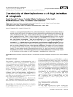 Genotoxicity of dimethylarsinous acid  high induction of tetraploids.