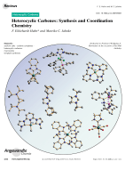 Heterocyclic Carbenes  Synthesis and Coordination Chemistry.
