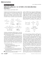 Indeno[2 1-a]fluorene  An Air-Stable ortho-Quinodimethane Derivative.