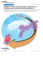 Inhibition of Beta-Amyloid Peptide Aggregation by Multifunctional Carbazole-Based Fluorophores.