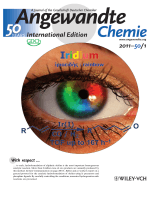 Inside Cover  A General and Efficient Iridium-Catalyzed Hydroformylation of Olefins (Angew. Chem. Int. Ed. 12011)