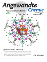 Inside Cover  A Spherical Molecule with a Carbon-Free Ih-C80 Topological Framework (Angew. Chem. Int. Ed. 272009)