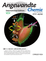 Inside Cover  Adhesive Vesicles through Adaptive Response of a Biobased Surfactant (Angew. Chem. Int. Ed. 492010)