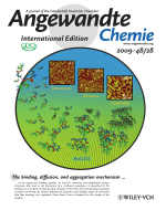 Inside Cover  Adsorption  Diffusion  and Self-Assembly of an Engineered Gold-Binding Peptide on Au(111) Investigated by Atomic Force Microscopy (Angew. Chem. Int. Ed