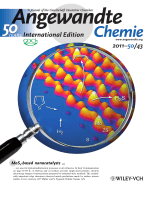 Inside Cover  Atomic-Scale Edge Structures on Industrial-Style MoS2 Nanocatalysts (Angew. Chem. Int. Ed. 432011)