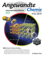 Inside Cover  Bidirectional Chemo-Switching of Spin State in a Microporous Framework (Angew. Chem. Int. Ed. 262009)