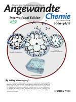 Inside Cover  Bifunctional Dendrimers  From Robust Synthesis and Accelerated One-Pot Postfunctionalization Strategy to Potential Applications (Angew. Chem. Int. Ed. 122009)